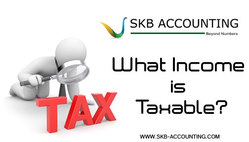 What Income is Taxable?