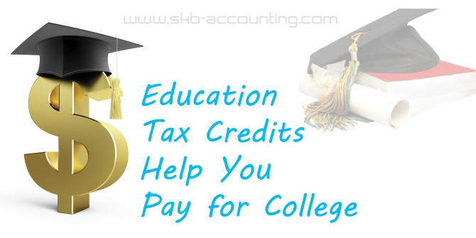 Education Tax Credits Help You Pay for College